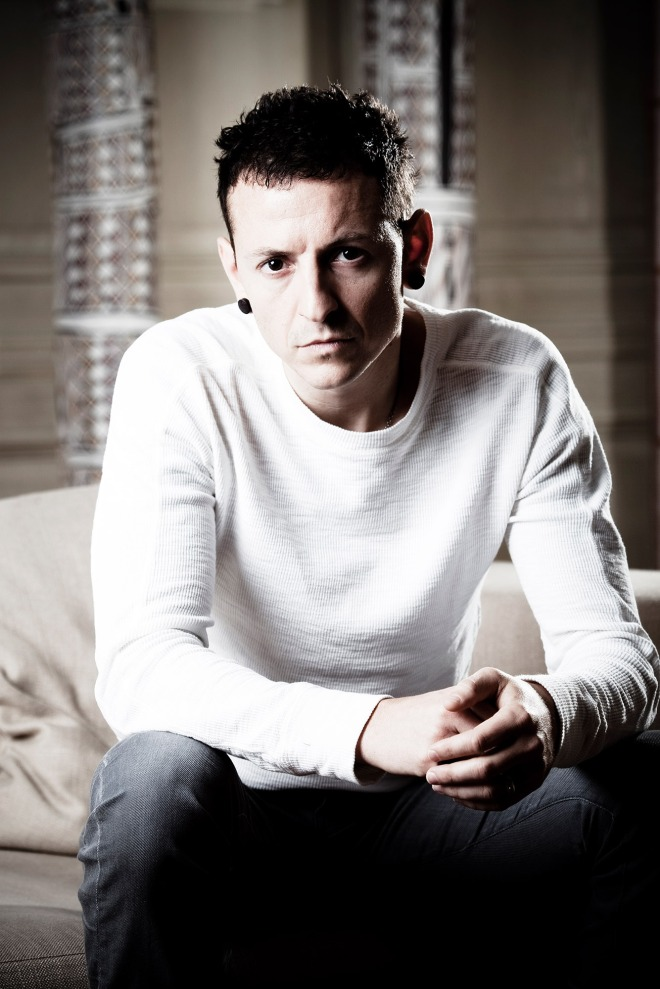 Chester Bennington of Linkin Park Portrait Session