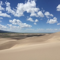 Colorado, sand dunes and books